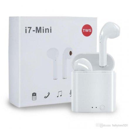 S³uchawki Bluetooth TWS i7 minibox