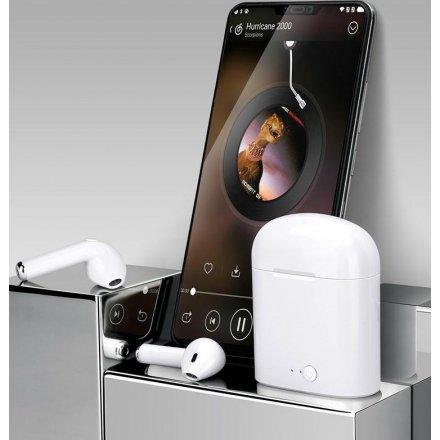 S³uchawki Bluetooth TWS i7 mini4