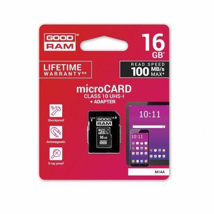 16GB goodram karta micro10