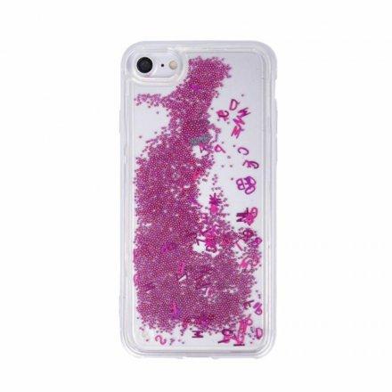 etui case liquid letters glitter roz 0