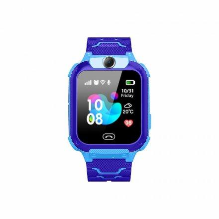 smartwatch dla dzieci q12 niebieski1