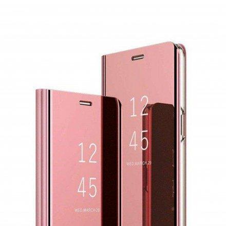etui flip mirror pink