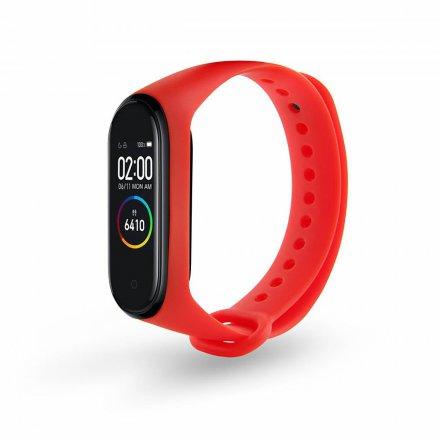 smartband m4 czerwony