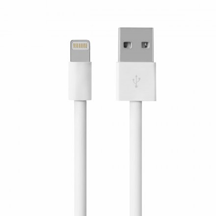 kabel usb iphone lightning bialy