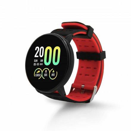 smartwatch 119 plus czarny czerwony