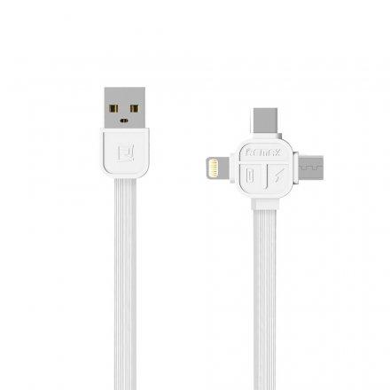 kabel Remax RC066th 3w1 white