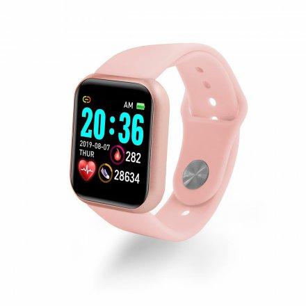 smartwatch l18 rozowy