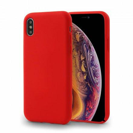 etui silicone cover czerwony