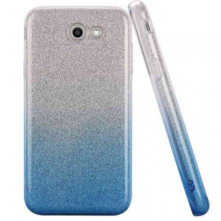 glitter silver blue